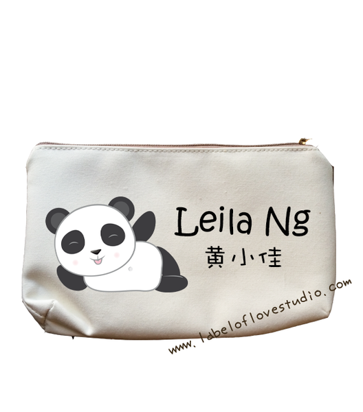 Hello Panda Pencil Case