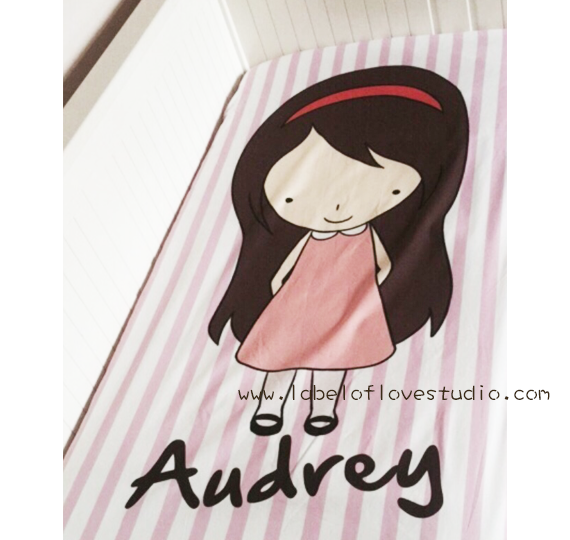 Personalized Mattress Cover (choose your own design)