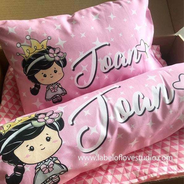 Pinky Princess Bedding Set