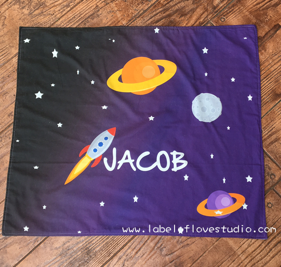 Starry Galaxy Big Personalized Blanket