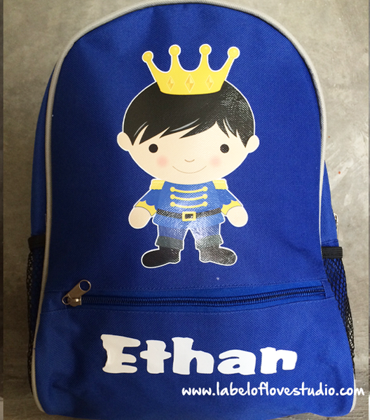 Personalized Prince Valiant Backpack