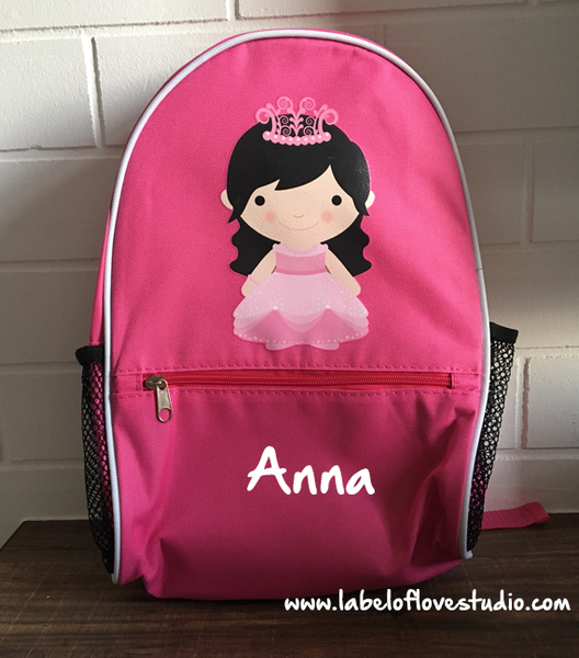 Personalized Princess Ruby Backpack