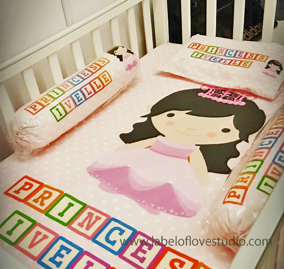 Princess Long Locks Bedding Set