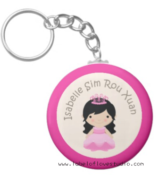 Princess Long Locks Bag Tag
