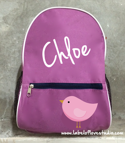 Personalized Backpack Big Name (design your own)