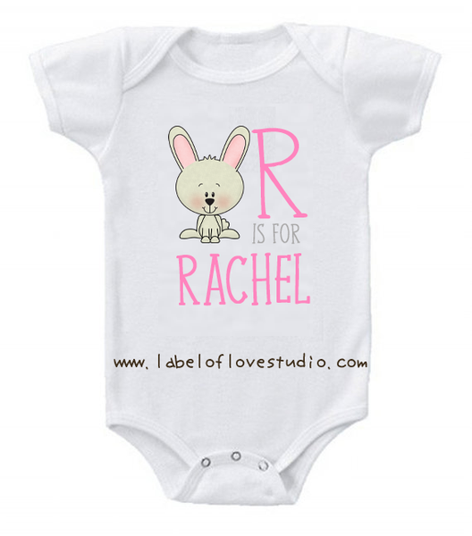 R is for ... Alphabet Romper/ Tee