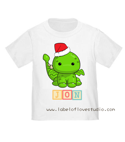 Christmas Zodiac in Rainbow Blocks Romper/ Tee