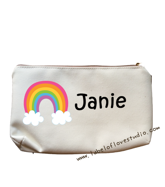 My Little Rainbow Pencil Case