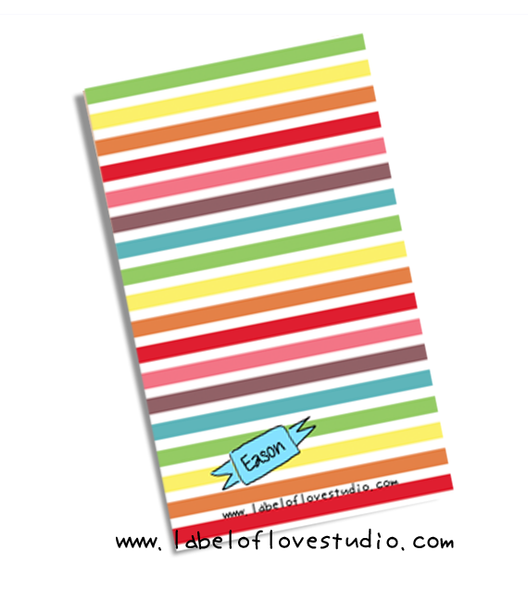 Rainbow Hues Notebook