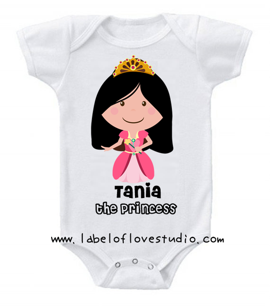 Princess Ruby Romper/ Tee