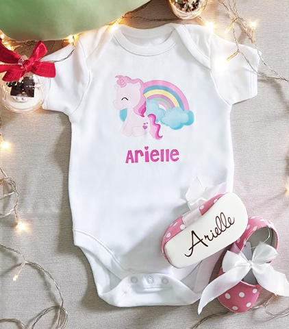 Personalized Romper with Shoes
