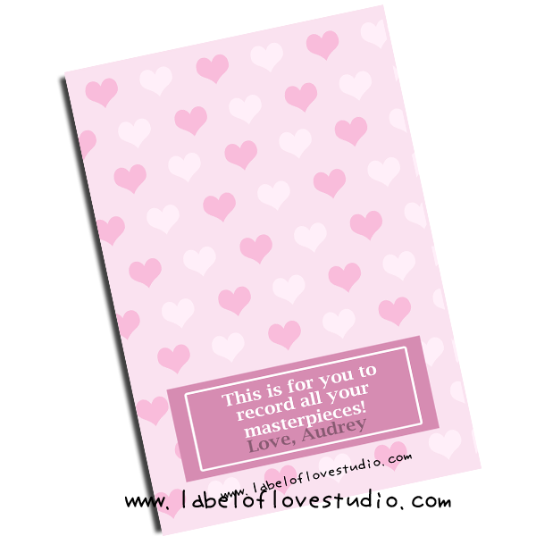 Bursting with Love Notebook