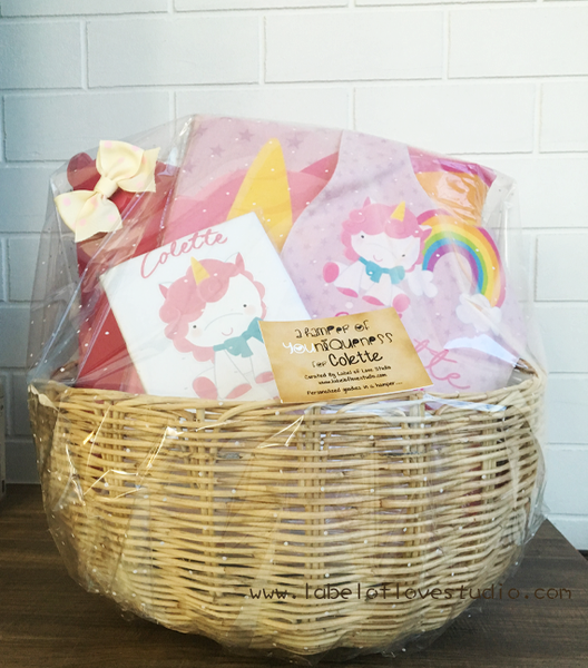 Smiley Baby Hamper Set