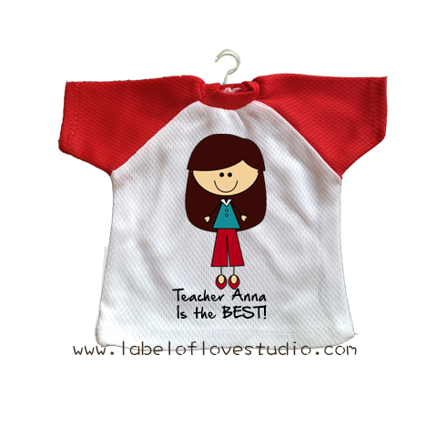 Best Teacher Mini Tee