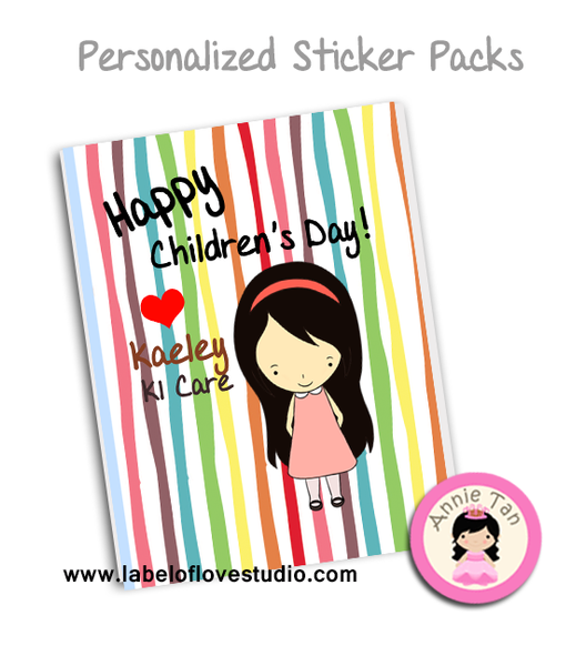 Children's Day Sticker Pack