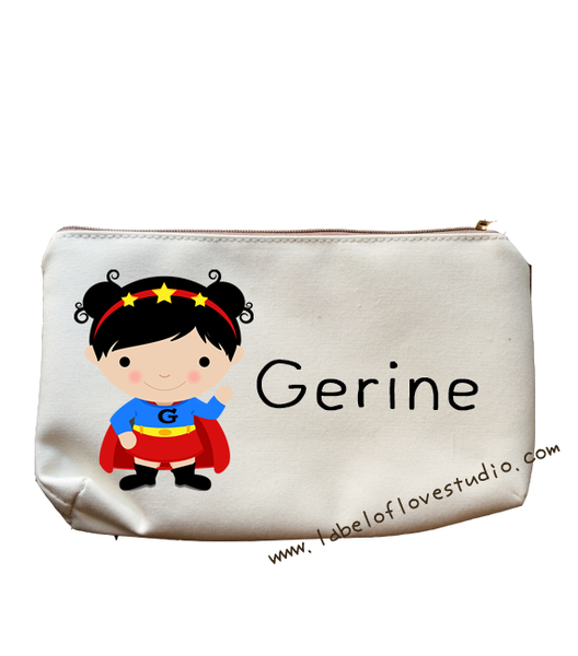 Super Girl Pencil Case