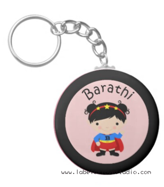 Super Girl Bag Tag