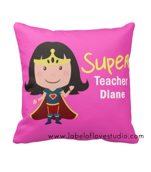 Super (Female) Teacher Cushion