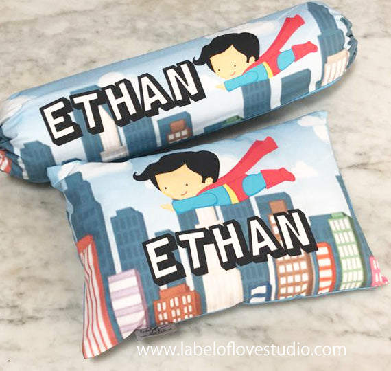 Super Kid in the City Bedding Set