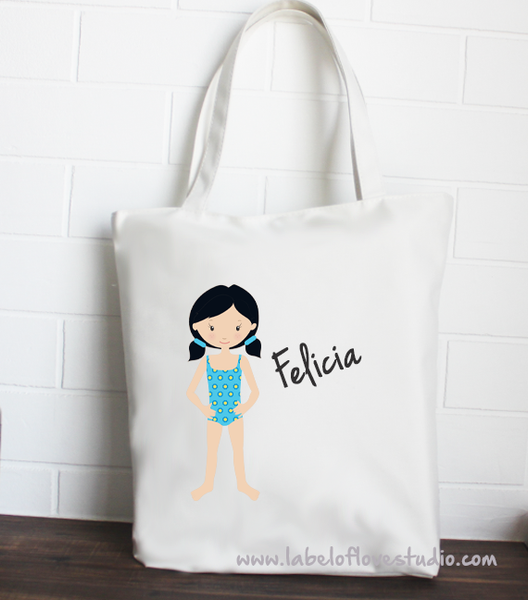 Tote: Lovely Swimmer