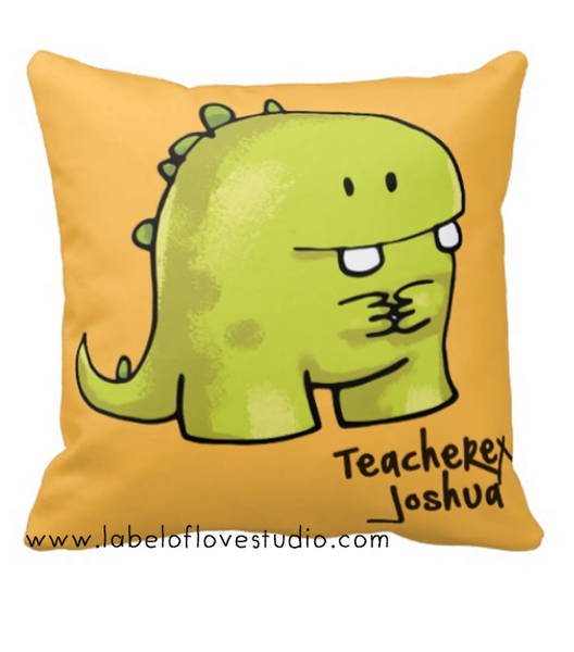 TEAcheREX Cushion