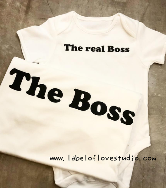 The Real Boss Father and Son Set