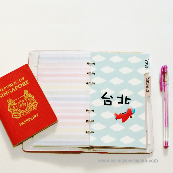Personalized Travel Planner Divider