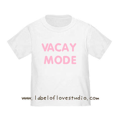 Vacay Mode (Pink) Vacation Romper/ Tee