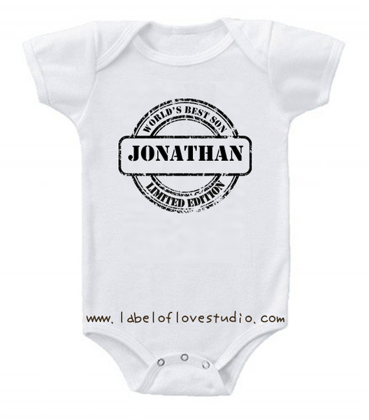 World's best Son/ Daughter Romper/ Tee