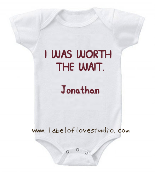 Worth the Wait Romper/ Tee