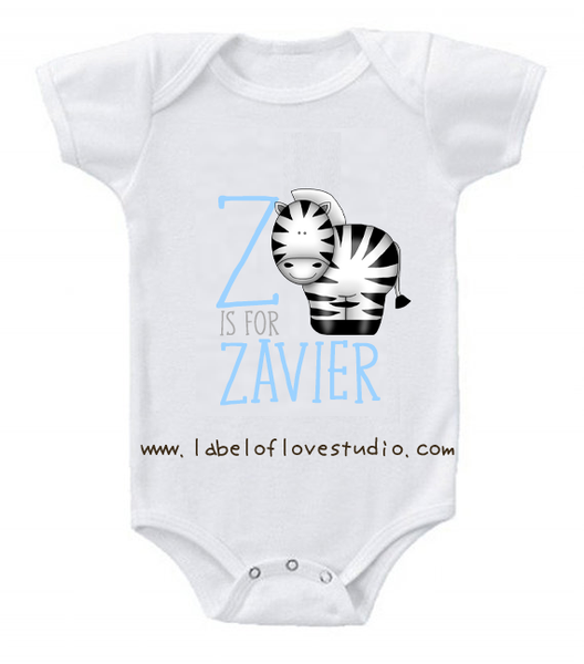 Z is for ... Alphabet Romper/ Tee