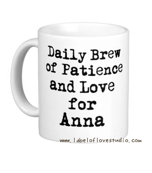A Daily Brew for Mum Cup