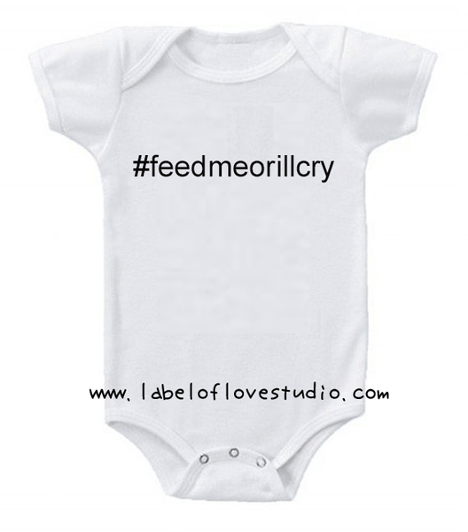 #feedmeorilcry Romper/ Tee
