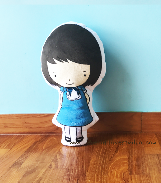 Lil Girl Mini Me Plush Toy
