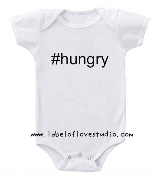 #hungry Romper/ Tee