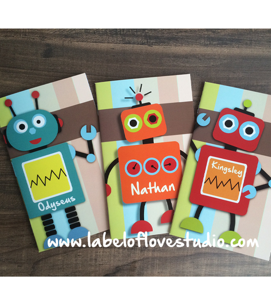 Little Robots Notebook