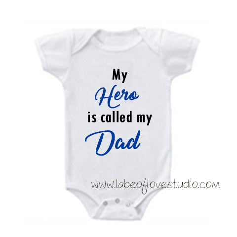 A Hero Called Dad Romper/ Tee