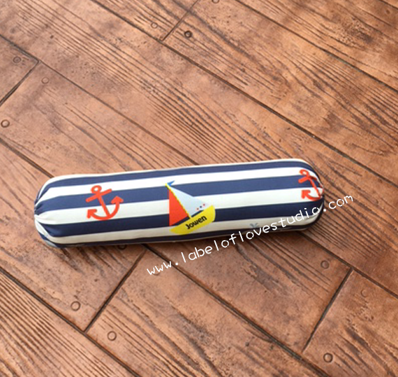 Nautical Personalized Bolster