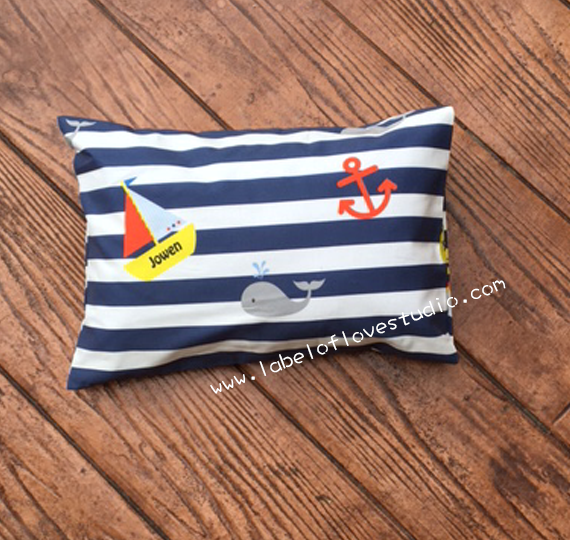 Nautical Personalized Pillow
