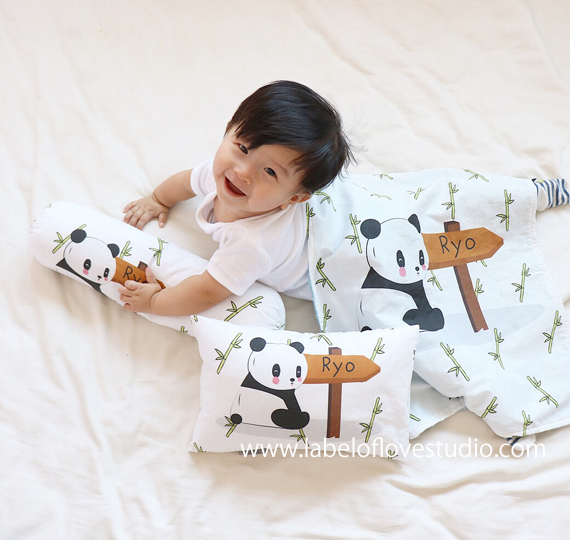 Paddy Panda Bedding Set