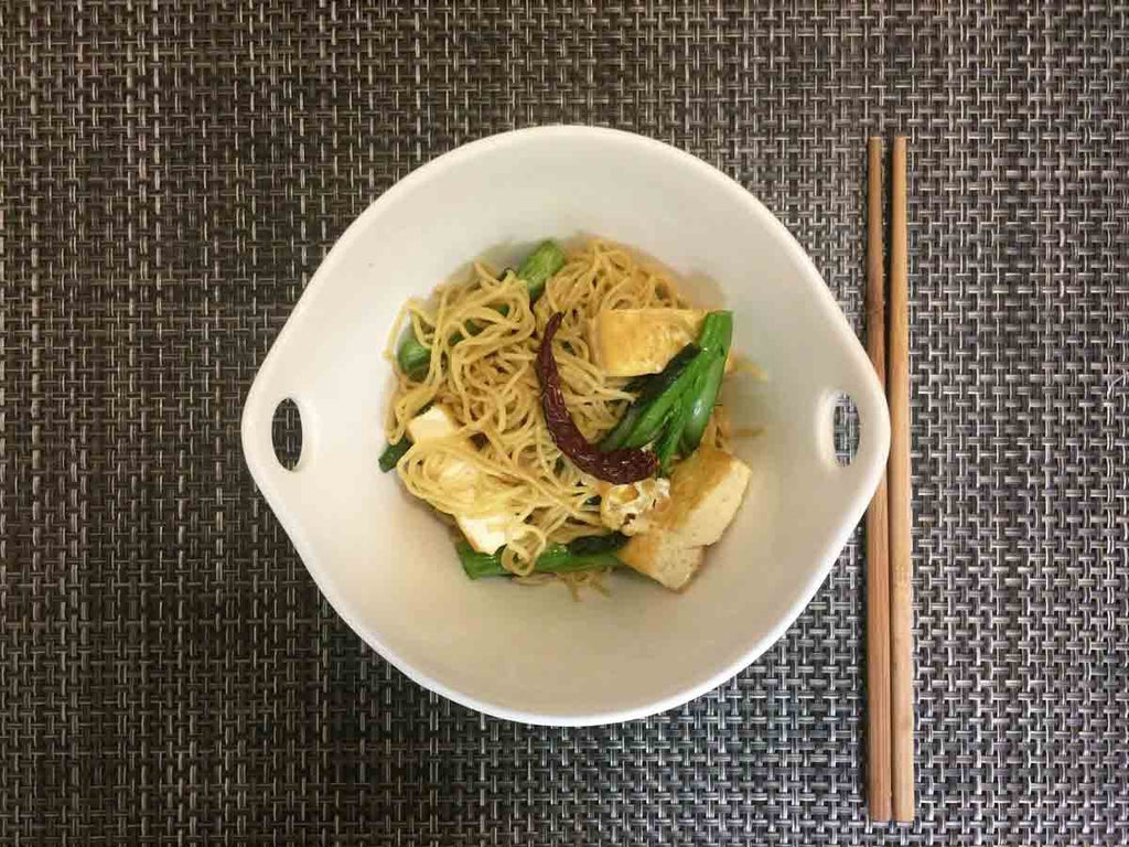 Egg Noodle Stir Fry | Made with Organic Coconut Oil