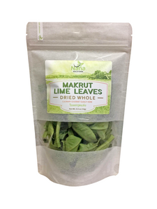 Makrut Lime Leaves Dried Whole | All Natural & Culinary Grade