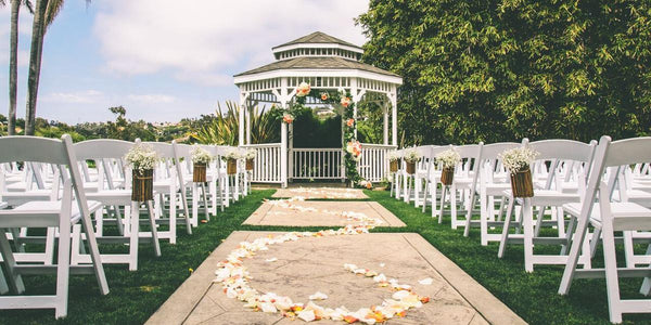 Where to Have a Wedding Ceremony and Reception in San Diego for under $10,000