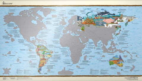 Bucket List World Map