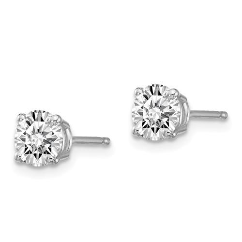 1.00 ctw Lab Grown Diamond Stud Earrings-Bel Viaggio Designs