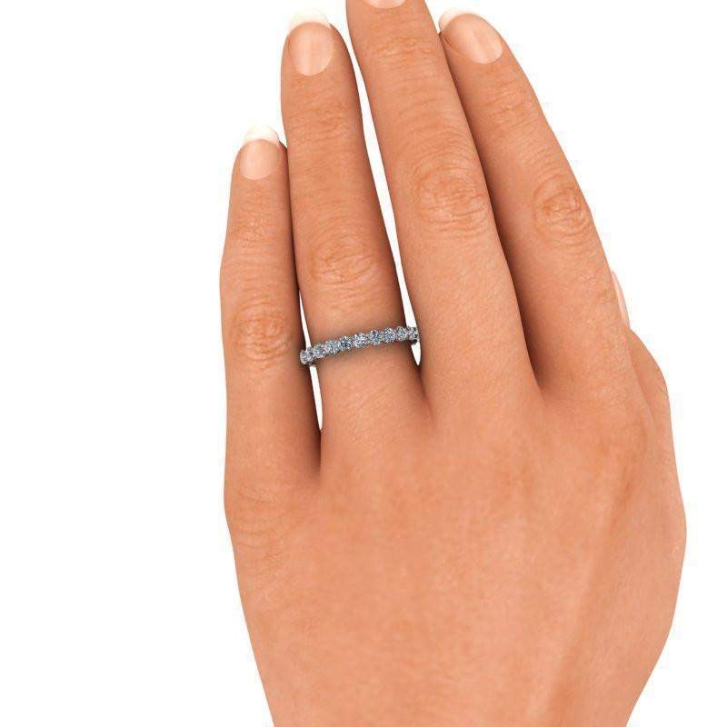 1.11 CTW Lab Grown Diamond Wedding Band - Insieme Bridal Stackables®-Bel Viaggio Designs