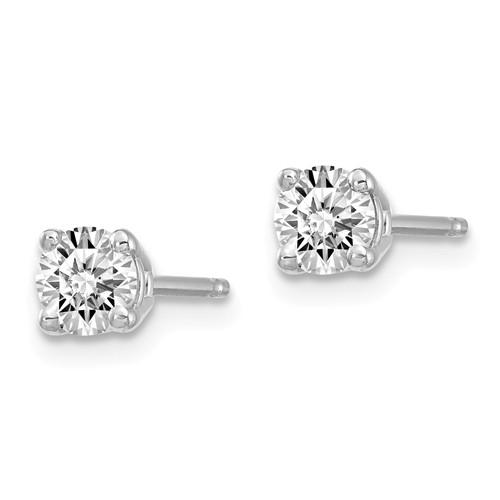 1/3 ctw Lab Grown Diamond Stud Earrings-Bel Viaggio Designs