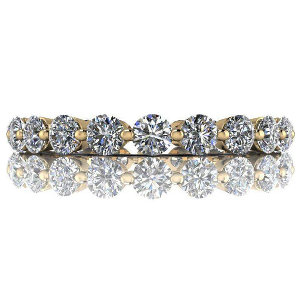 1.44 CTW Moissanite Eternity Band - Insieme Bridal™ Stackables Band-BVD