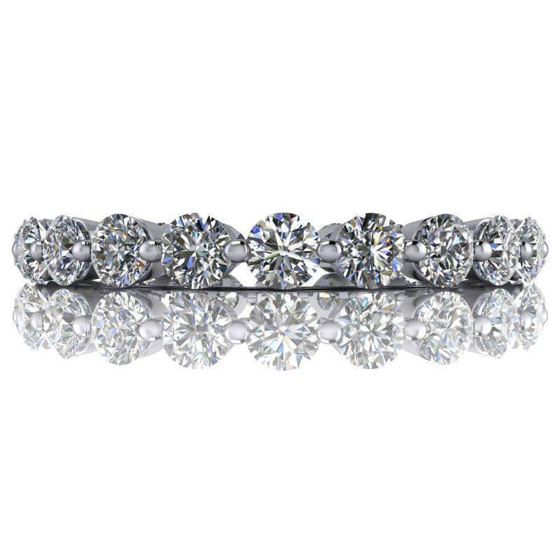 1.44 CTW Lab Grown Diamond Eternity Band Insieme Bridal Stackables®-Bel Viaggio Designs
