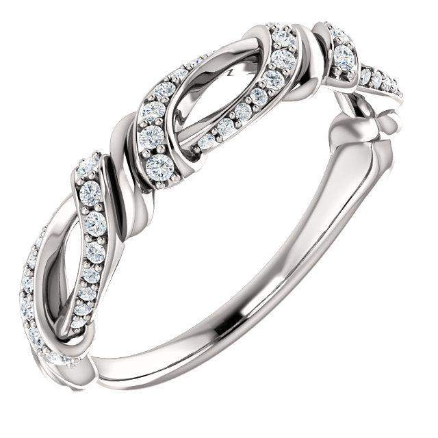 1/5 CTW lab Grown Diamond Anniversary Band-Bel Viaggio Designs